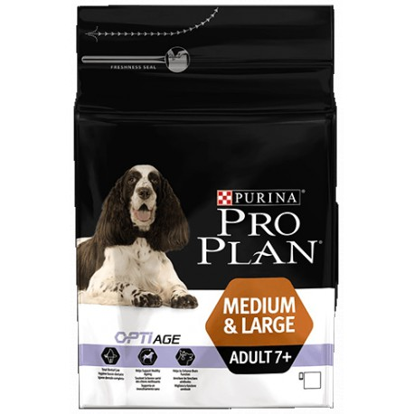 ProPlan Dog Adult 7+ Medium&Large 14kg
