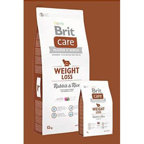 Brit Care Dog Weight Loss Rabbit & Rice 3kg + Sleva 5% od 2ks