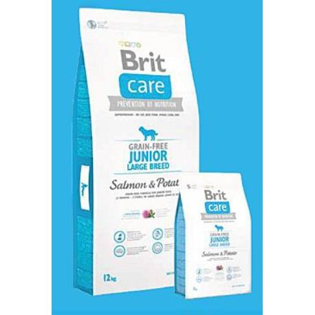 Brit Care Dog Grain-free Junior LB Salmon & Potato 3kg