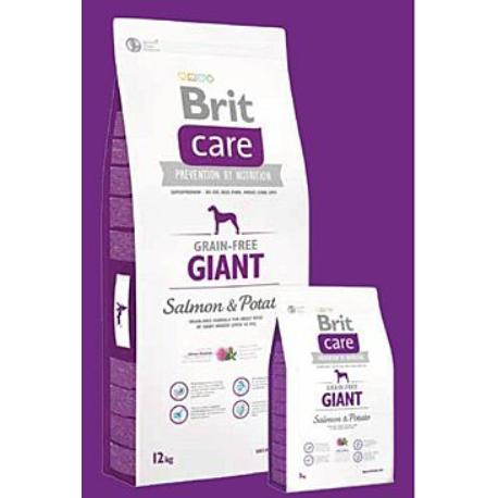 Brit Care Dog Grain-free Giant Salmon & Potato 3kg + Sleva 5% od 2ks