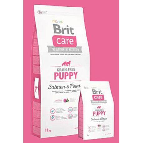 Brit Care Dog Grain-free Puppy Salmon & Potato 3kg + Sleva 5% od 2ks