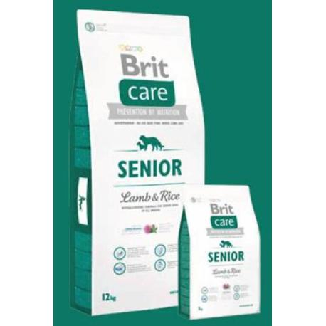 Brit Care Dog Senior Lamb & Rice 3kg + Sleva 5% od 2ks