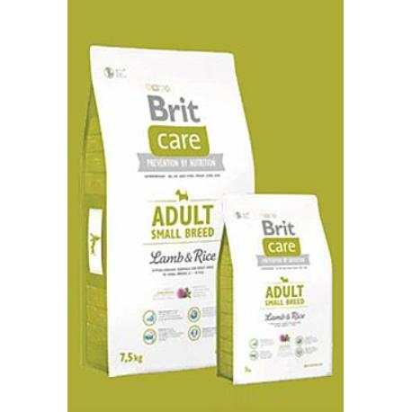 Brit Care Dog Adult Small Breed Lamb & Rice 3kg + Sleva 5% od 2ks
