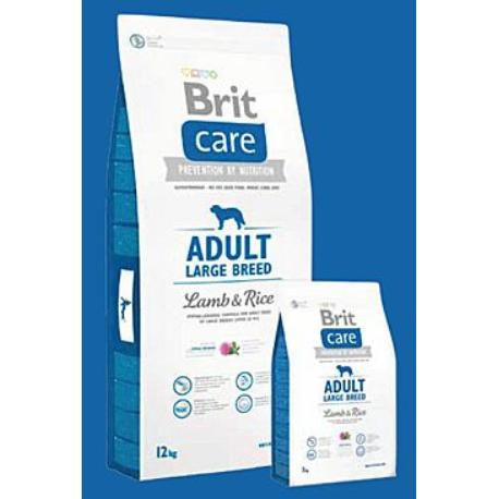 Brit Care Dog Adult Large Breed Lamb & Rice 1kg + Sleva 5% od 2ks