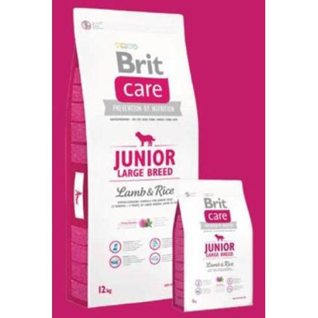 Brit Care Dog Junior Large Breed Lamb & Rice 3kg + Sleva 5% od 2ks