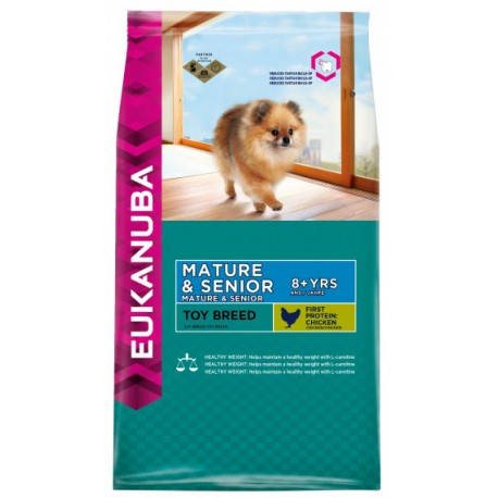 Eukanuba Dog Mature&Senior Toy Breed 800g