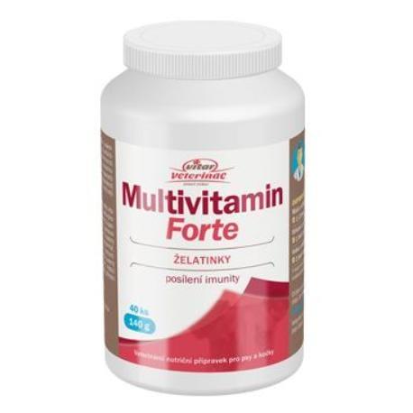Nomaad Multivitamin Forte 40ks želé + Sleva 5% od 2ks
