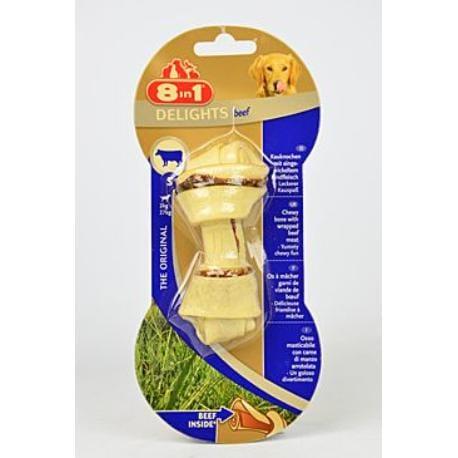 Kost žvýkací Delights Beef S 1ks