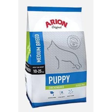 Arion Dog Original Puppy Medium Chicken Rice 3kg