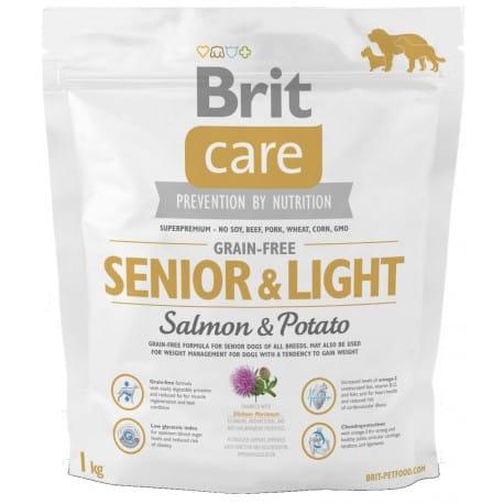 Brit Care Dog Grain-free Senior Salmon & Potato 1kg