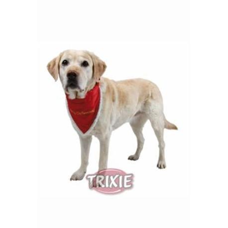 Vánoční šátek pro psa 30-40cm/20mm S-M TR 1ks*