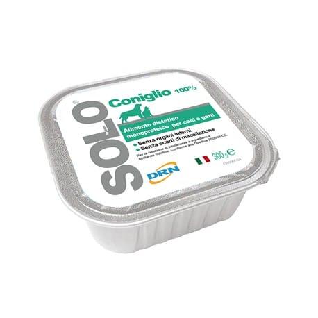 SOLO Coniglio 100% (králík) vanička 300g