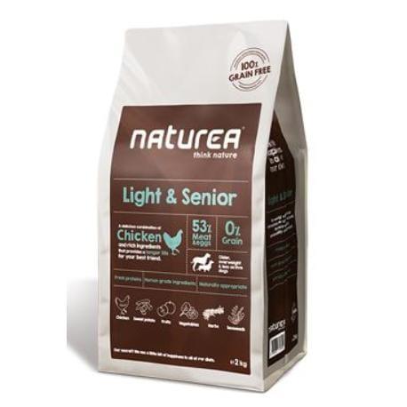 Naturea GF dog Light&Senior- all breeds 2kg