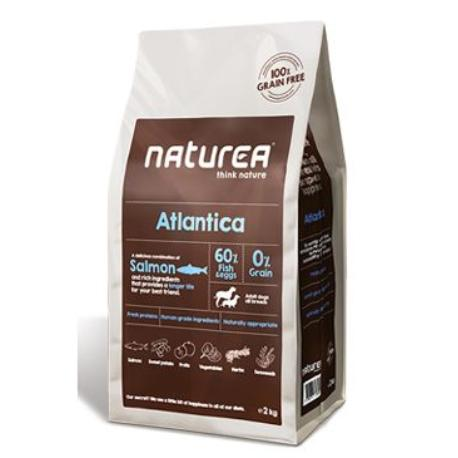 Naturea GF dog Atlantica - Adult all breeds 2kg + VÝPRODEJ