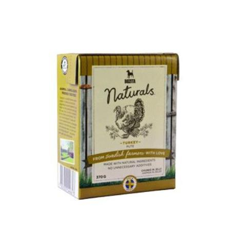 Bozita Dog Naturals Big Turkey Krůta Tetrapak 370g