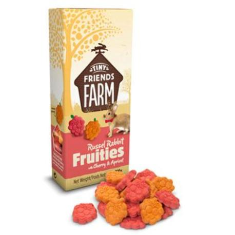 Supreme Tiny Farm Snack Russel Fruitees králík 120g