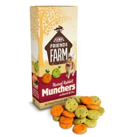 Supreme Tiny Farm Snack Russel Munchers králík 120g