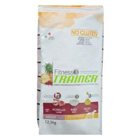Trainer Fitness Adult M/M No Gluten Lamb Rice12,5kg