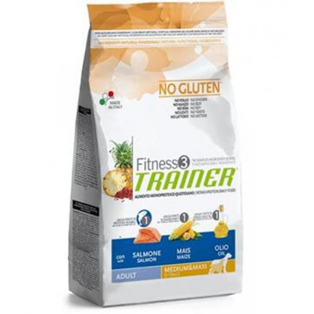 Trainer Fitness Adult M/M No Gluten Salmon Maize12,5kg