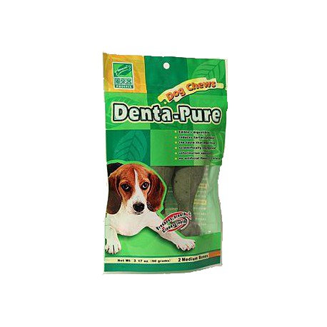 Pochoutka dentální DENTA-PURE 10cm 2ks