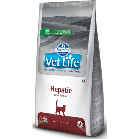 Vet Life Natural CAT Hepatic 2kg
