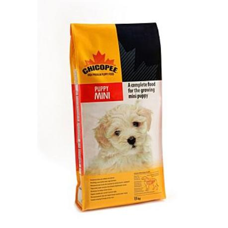 Chicopee pes Dry Puppy Mini 15kg