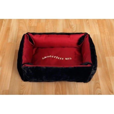 Pelech Snoozzzeee Semiš sofa oboustranný 58cm cherry 1