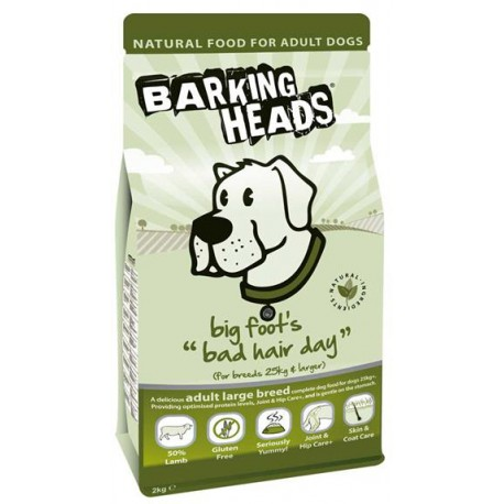 BARKING HEADS PROFESSIONAL LARGE BREED LAMB 18kg
