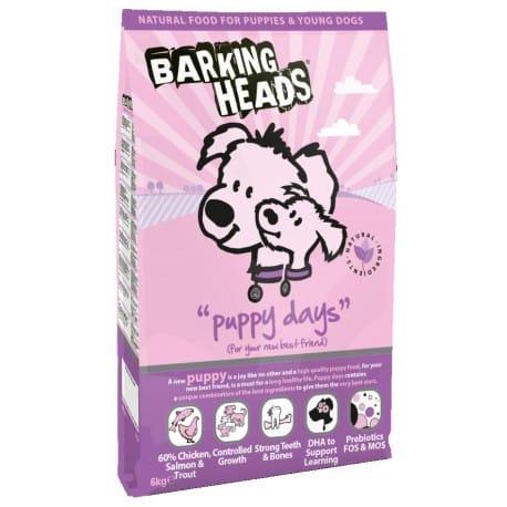 BARKING HEADS Puppy Days 6kg