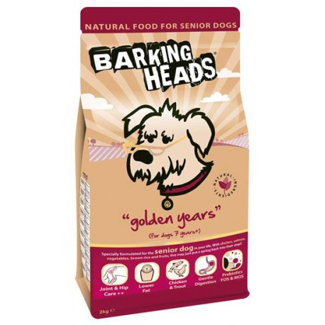BARKING HEADS PROFESSIONAL SENIOR 18kg
