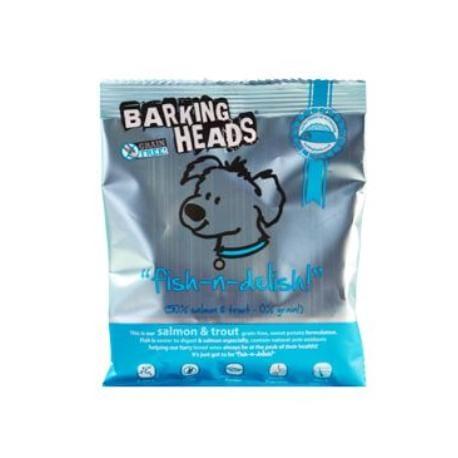 BARKING HEADS Fish-n-Delish GRAIN FREE - VZOREK 40g