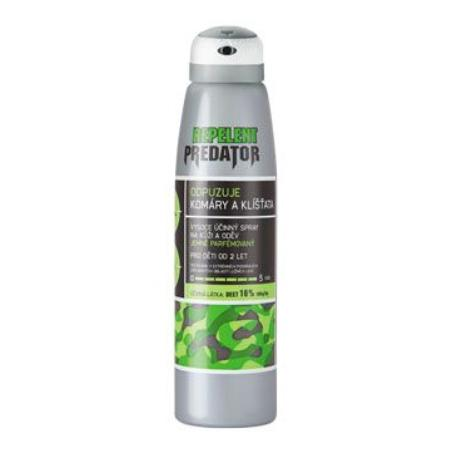 PREDATOR repelent spray 150ml 16%DEET