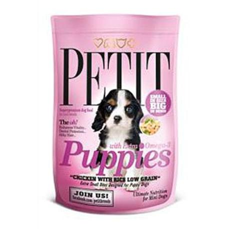 Petit Dry Puppies with Extra Omega-3 Low Grain 1,5kg