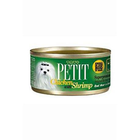 Petit Canned Chicken with Shrimp 80g