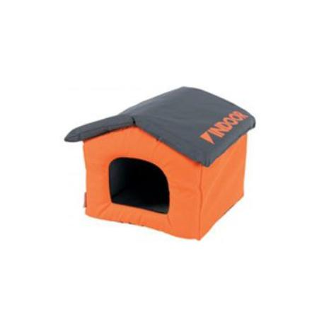 Domek pro hlodavce INDOOR oranžová/šedá Zolux
