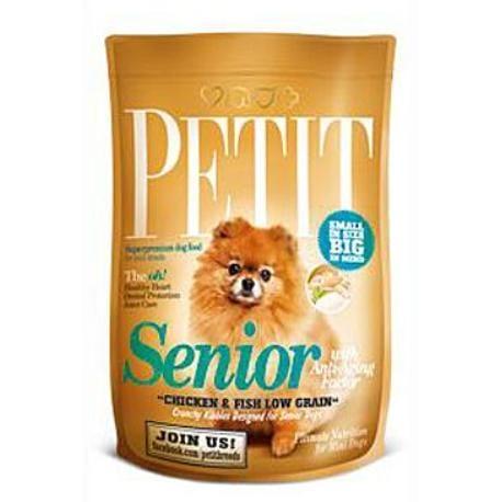 Petit Dry Senior Anti-Aging Factor Grain Free 1,5kg