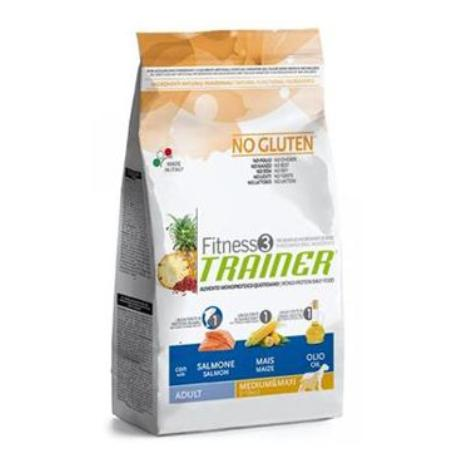 Trainer Fitness Adult Mini No Gluten Salmon Maize 2kg