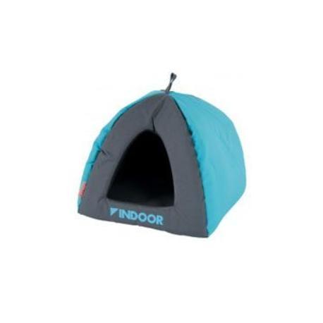 Domek pro hlodavce INDOOR IGLOO modrá/šedá Zolux