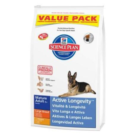 Hill's Canine Dry Mature Adult Large BREEDER 18kg