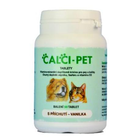 Calci pet 50tbl vanilla