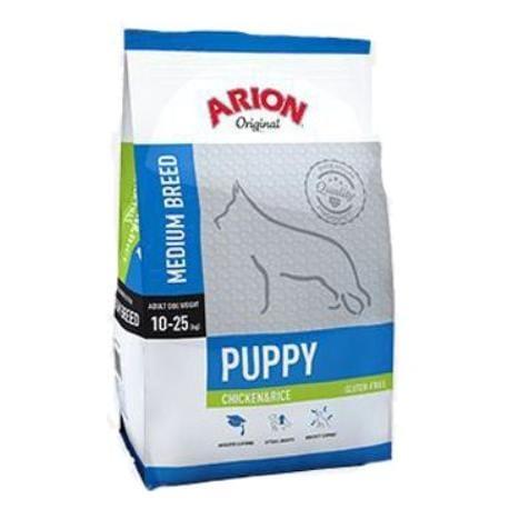 Arion Dog Original Puppy Medium Chicken Rice 12kg