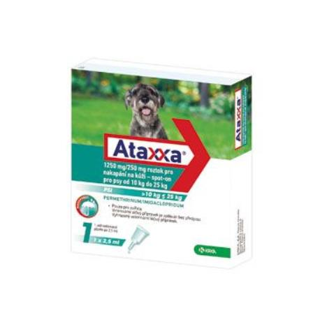 Ataxxa Spot-on Dog L 1250mg/250mg 1x2,5ml