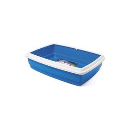 WC Katja Jumbo s okrajem 50x40x14cm modrá