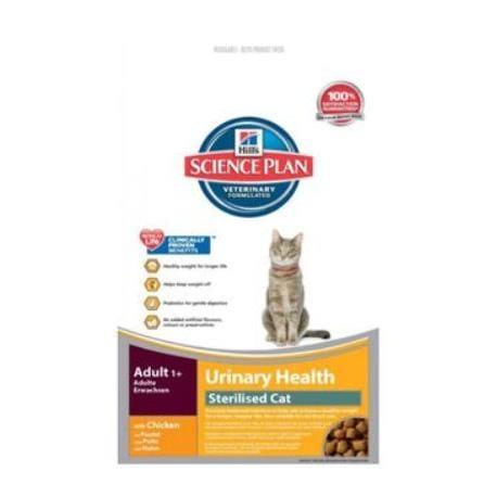 Hill's Feline Dry Adult Urinary Sterilised Ch. 300g