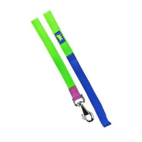 Vodítko nylon CLUB G 20mmx120cm zeleno-modré FP 1ks