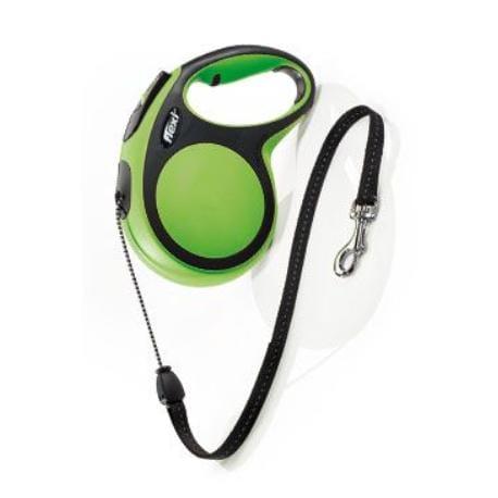 Vodítko flexi Comfort M lanko 8m/20kg zelená