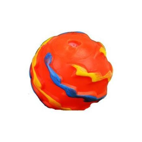 Hračka Pes Vinyl Míček Flame Ball 5cm 1ks, Lill