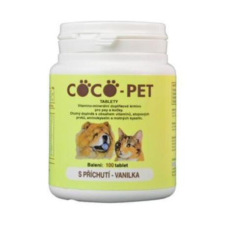 Coco pet 100tbl vanilka