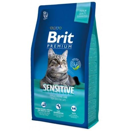 Brit Premium Cat Sensitive 2 x 8kg NEW