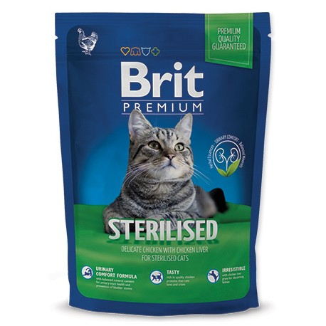 Brit Premium Cat Sterilised 300g NEW + Sleva 5% od 2ks